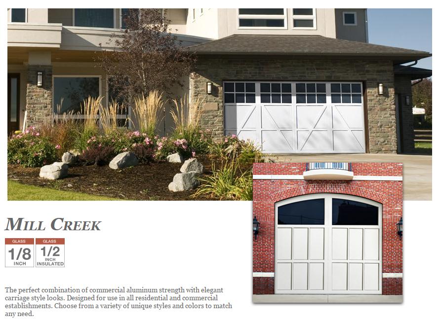 MillCreek Garage Doors by Doorlink